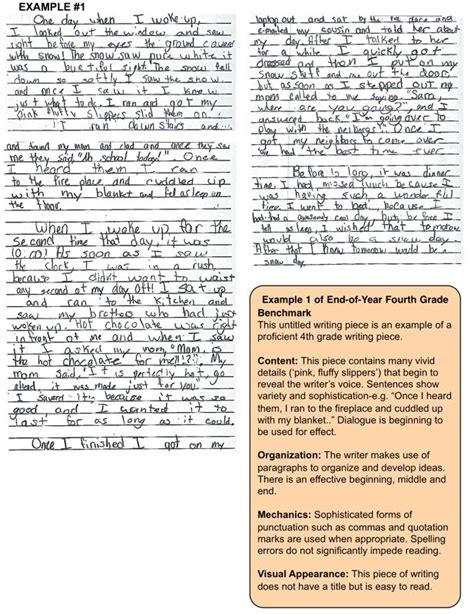 4th Grade Essay Sles fourth grader s essay for 28 images informative essay