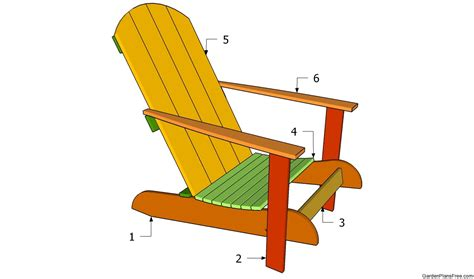 garden chair plans  garden plans   build