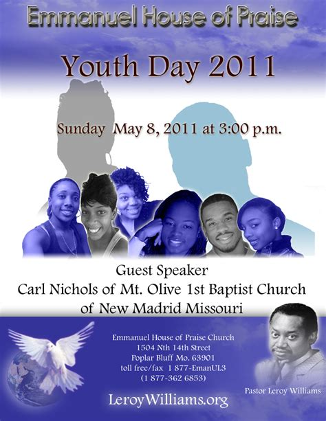 poems for youth day at church