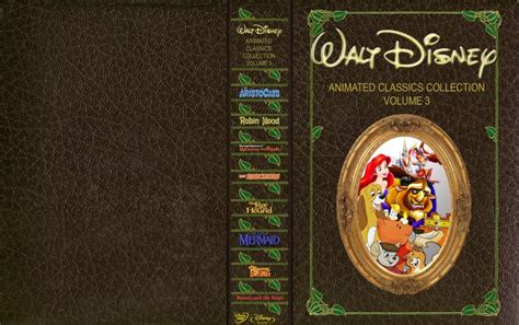 disney animated classics collection volume 3 movie dvd custom covers disneyclassicsvol3