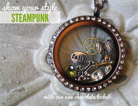 Origami Owl Chocolate Locket - memory keepers origami owl living lockets bren yule