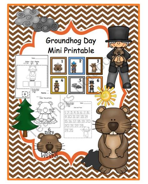 groundhog day 123 17 best images about groundhog preschool stuff on