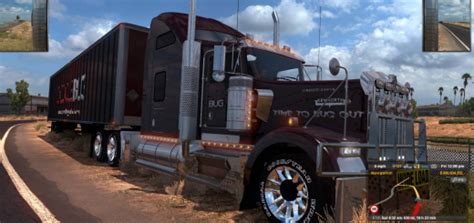 doodle bug lake worth peterbilt 386 truck update american truck simulator mod