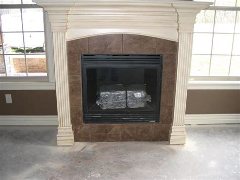 Tile Designs For Fireplaces by Distinctive Fireplace Designs In Or Tile Design