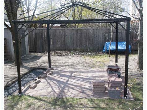 metal frame gazebo metal gazebo frame nepean ottawa