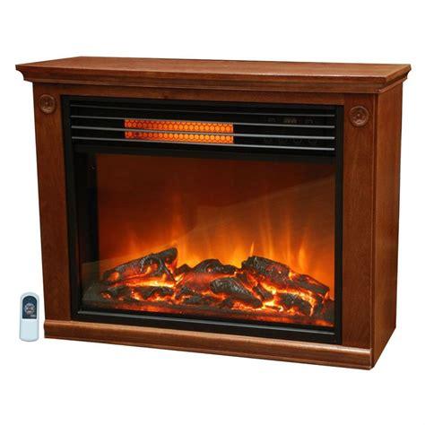 infrared electric fireplace space heater  watt medium