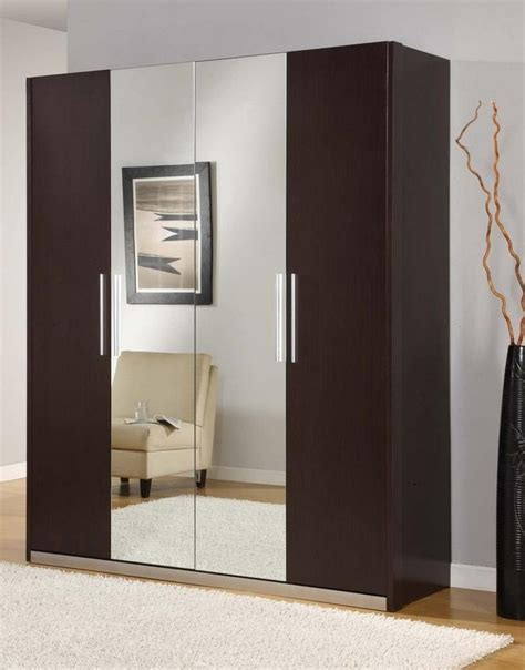 bedroom wardrobe designs wooden wardrobe designs for bedroom with mirror pictures 02
