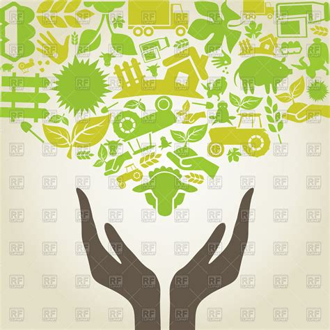 agriculture clipart and agriculture icons royalty free vector clip