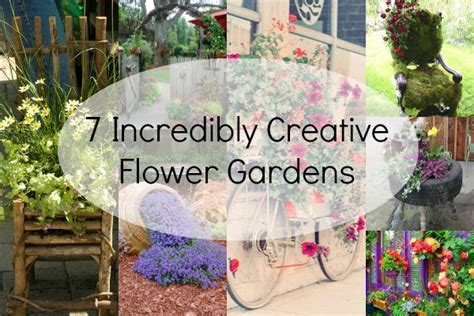 7 Incredibly Creative Flower Gardens Blissfully Domestic How To Make A Flower Garden