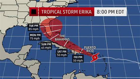imagenes satelitales tormenta erika trayectoria de erika incierta tras paso por puerto rico