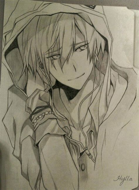 Anime Boy Sketch By Hylla Chan On Deviantart Boy And Anime Drawing