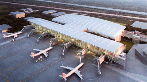 Future Building Designs by Kamraj Domestic Terminal At Chennai International Airport