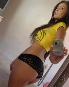 Spanish Girl Taking A Selfshot Pic Of Her Perfect Ass Hotmirrorpics