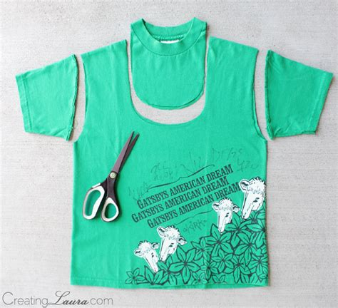 How To Make A T Shirt Out Of Paper - creating a tote bag out of a t shirt