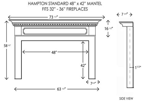 standard mantel height wood fireplace mantels fireplace mantels hton
