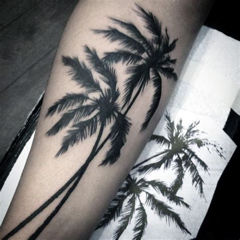 simple palm tree tattoo collection of 25 palm tree