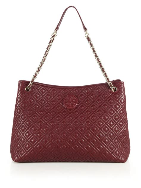 burch marion quilted shoulder bag in lyst