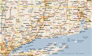 ct on us map map of connecticut connecticut maps mapsof net