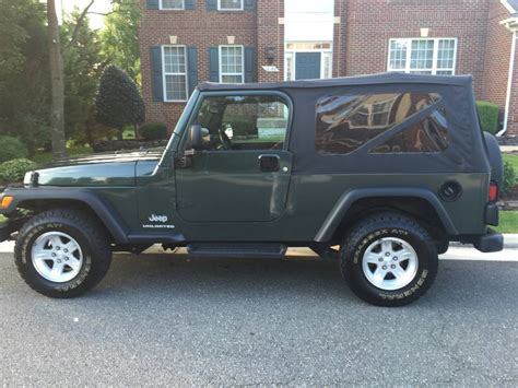 2004 To 2006 Jeep Unlimited For Sale 2004 Jeep Wrangler Unlimited Convertible For Sale In