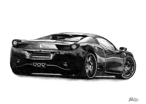ferrari 458 sketch how to draw ferrari 458 italia www imgkid com the