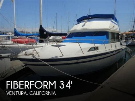 fishing boats for sale in ventura california for sale used 1978 fiberform 3300 executive flybridge in