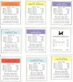 monopoly property cards template photoshop make your own monopoly craft ideas utbildning