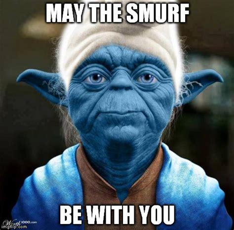 Yoda Meme Maker - smurf yoda imgflip