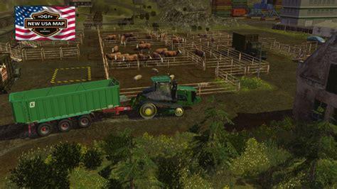 map usa farming simulator 2015 ogf usa map v 1 2 farming simulator 2015 15 ls mod