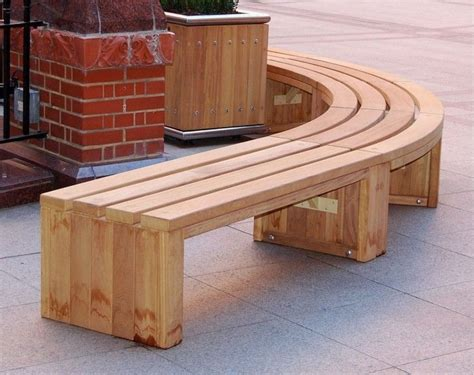 Furniture Curved Wood Bench For Outdoor Curved Wooden Curved Outdoor Patio Furniture