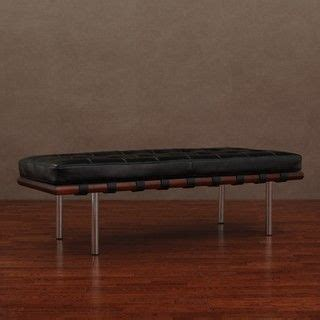 andalucia bench andalucia black leather bench by i love living