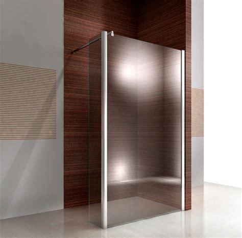 dänische designer walk in dusche seitenelement spritzschutz nano echtglas