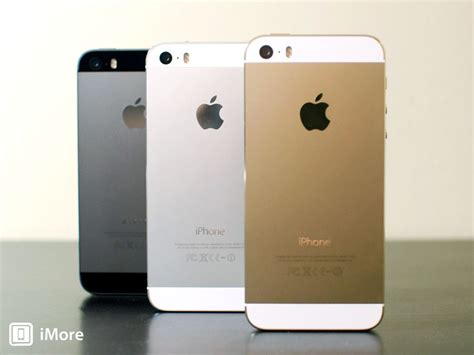iphone 5s colors iphone 5s review imore