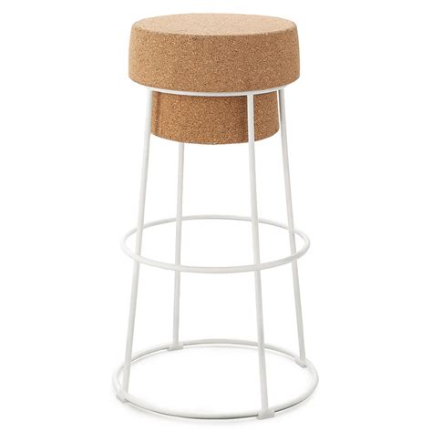white modern stools beth modern white stool by domitalia eurway furniture