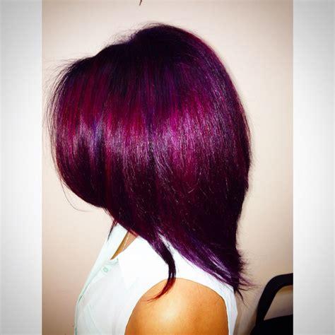 pravana magenta hair color magenta and violet fashion color using pravana vivids done