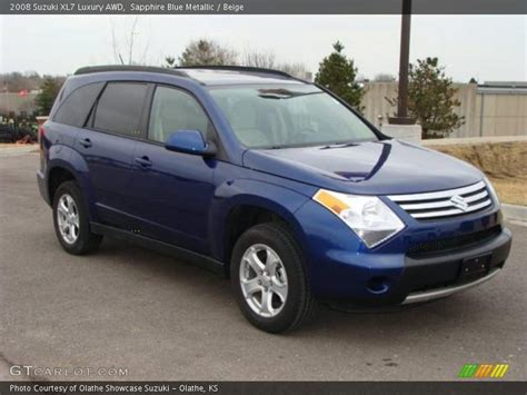 2008 Suzuki Xl 7 2008 Suzuki Xl7 Luxury Awd In Sapphire Blue Metallic Photo