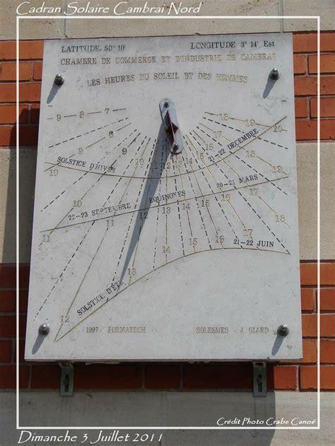 chambre de commerce cambrai un cadran solaire expos 233 224 la chambre de commerce de