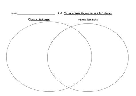 venn diagram shapes worksheet all worksheets 187 venn and carroll diagrams year 6