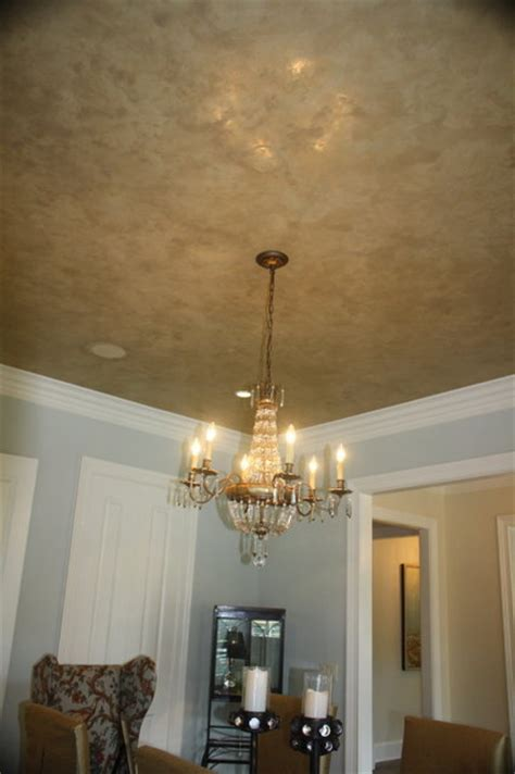 Plaster Ceiling Finishes by Venetian Plaster Ceiling Finish Faux Finish With Metallic