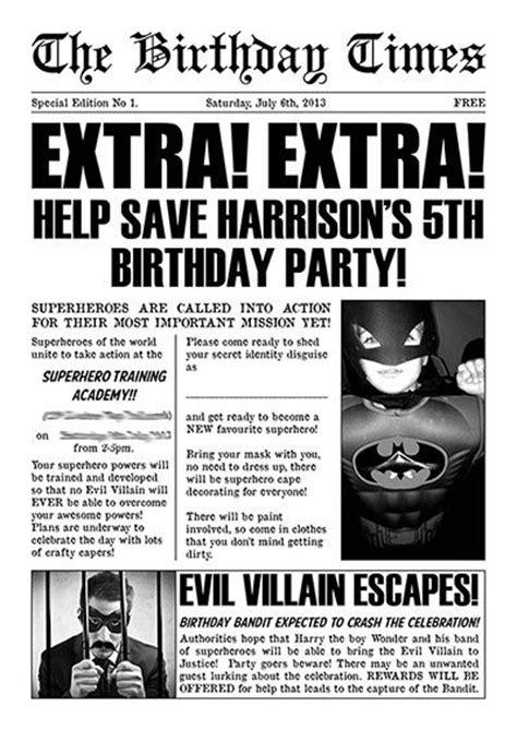 invitation template superhero refrence free superhero invitation