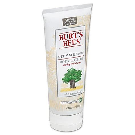 Tattoo Care Burt S Bees | burt s bees 6 oz ultimate care body lotion bed bath