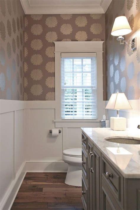 small bathroom wallpaper ideas 25 best ideas about half bath remodel on pinterest half