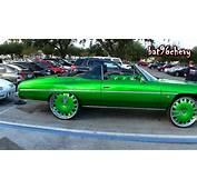 Candy Green 75 Caprice Donk Vert On 28 Forgiatos  1080p