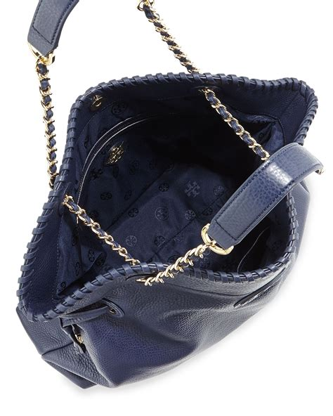 Burch Stacked Small Satchel And Marion Drawstring burch marion slouchy drawstring tote bag in blue lyst