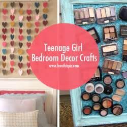bedroom crafts teenage girl bedroom decor crafts