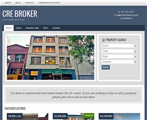is commercial real estate for you books hassle free commercial real estate website templates 29doors