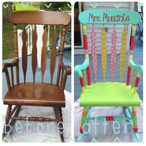 kindergarten rocking chair refinished colorful rocking chair step 1 buy a