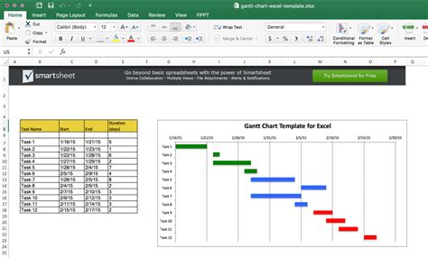 Gantt Chart In Excel Template Image Collections How To Guide And Refrence Gantt Chart Template Sheets