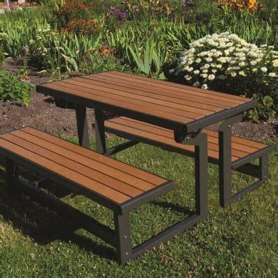 lifetime benches convertible patio bench 60054