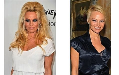 pamela anderson loses pixie cut pamela anderson wears extensions practical glamour blog tips constance dunn part 2