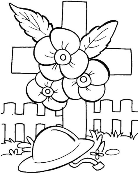 Free Coloring Pages Of Remembrance Day Wreath Remembrance Day Colouring Pages